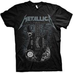 Tričko Hammett Ouija Guitar unisex černé
