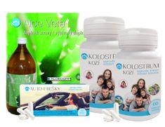Novax 2x Kolostrum kozí + Aloe vera Zdarma (1L) + Auto-frešky zdarma