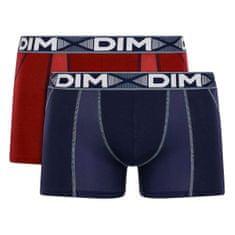 DIM pánské boxerky D01N1 COTTON 3D FLEX AIR BOXER 2 ks