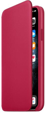 Apple etui iPhone 11 Pro Max Leather Folio - Raspberry MY1N2ZM/A