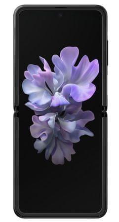 Samsung Galaxy Z Flip GSM telefon, zrcalno črn