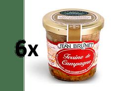 Jean Brunet Farmářská terina 6x90g