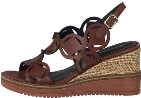 Tamaris 28312 ženski sandali, rjavi, 37