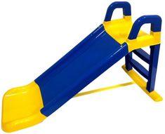 Doloni Skluzavka 140cm modro-žlutá