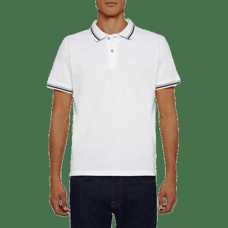 Geox Sustainable M0210A T2649 moška polo majica, bela, M