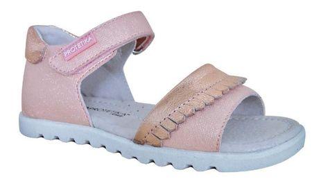 Protetika sandały dziewczęce ELBA 30 różowe