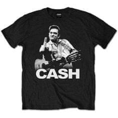 Tričko Johnny Cash unisex černé