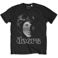 Tričko The Doors - Jim Halftone unisex černé