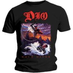 Tričko Holy Diver unisex černé