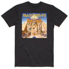 Tričko Iron Maiden - Powerslave unisex černé