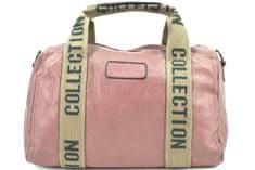 COVERI Cestovní taška Coveri collection - starorůžová
