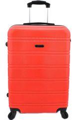 Agrado Cestovní kufr skořepinový na čtyřech kolečkách Agrado (L) 90l - žlutá
