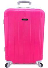 Agrado Cestovní palubní kufr skořepinový na čtyřech kolečkách Agrado - (S) 40l - fialová