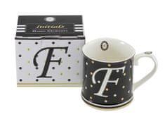 Home Elements Porcelánový hrnek - Písmeno F