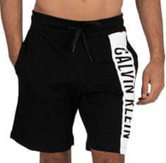 Calvin Klein Pánské kraťasy KM0KM00485-BEH černá - Calvin Klein