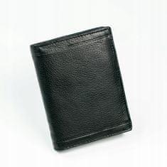 Pierre Andreus Kožená pánská peněženka ALEKSY, černá