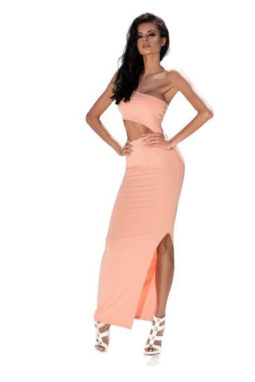 Gemini Dámské šaty Endless Love Dress - ChickChick broskvová L