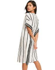 Maryan Mehlhorn Dámské plážové šaty M3223-697 černobílá - Maryn Mehlhorn