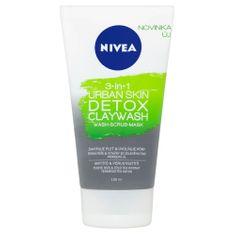 Nivea 3 v 1 Urban Skin Detox čistilna krema za obraz