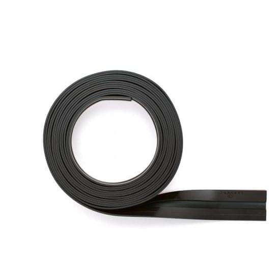 Durable Rolka samolepiaceho magnetického klipu DURAFIX ROLL 5 m čierny