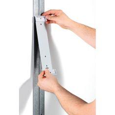 Durable Nástenný držiak magnetický VARIO s 10 panelmi