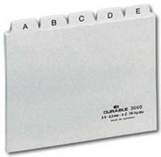 Han Plastové indexové kartičky A6 do kartotéky 986