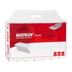 Katrin Papierové uteráky skladané ZZ 2-vrstvové Classic Handy pack biele