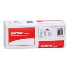 Katrin Papierové uteráky skladané ZZ 2-vrstvové Classic biele