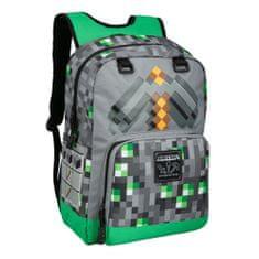J!nx Minecraft: Emerald Sirvivalist ruksak, zeleni