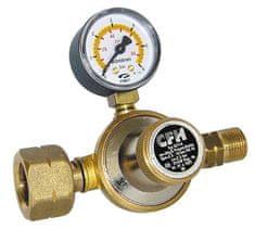 CFH CFH DR115 Regulátor tlaku s tlakoměrem, 1-4 bar regulovatelný