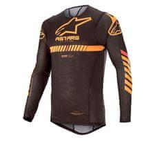 Alpinestars dres Supertech black/orange/red/fluo