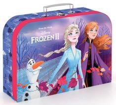 Karton P+P Laminált bőrönd, 34 cm, Forzen 2