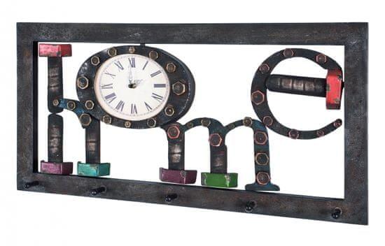 Mørtens Furniture Nástenný vešiak Amoh, 70 cm, hnedá