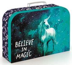 Karton P+P Laminált bőrönd, 34 cm, Unicorn 1