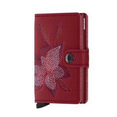 Secrid Dámská kožená peněženka Miniwallet magnolia SECRID