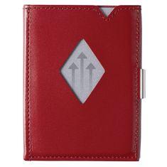 Exentri Červená minipeněženka na karty EXENTRI