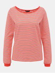ONLY bílo-červené pruhované basic tričko Aba
