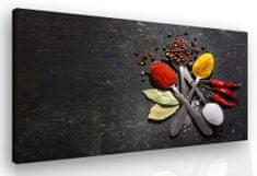 InSmile *Obraz do kuchyně- vůně koření Velikost: 120x80 cm