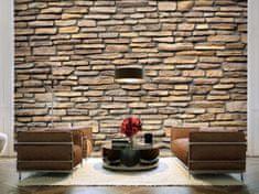 Murando DeLuxe Tapeta kameny-imitace Rozměry (š x v) a Typ: 392x309 cm - samolepící