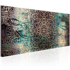 Murando DeLuxe Obraz Mandala - uzel míru Velikost: 120x40 cm