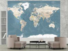 Murando DeLuxe Mapa světa vintage Rozměry (š x v) a Typ: 150x105 cm - vliesové