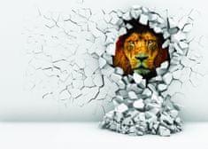 Dalenor 3D obraz na stenu lev, 120x80 cm