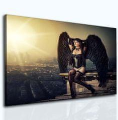 InSmile Temný anděl Velikost (šířka x výška): 25x20 cm