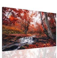 InSmile Obraz červené stromy Velikost: 120x80 cm