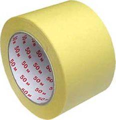 Economy Maskovacia krepová páska 75mmx50m žltá