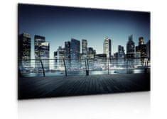 InSmile Obraz Noční mrakodrapy Velikost: 90x60 cm