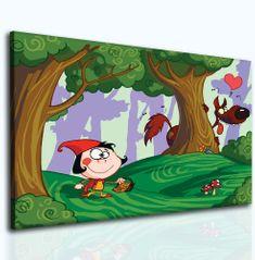 InSmile Dětský obraz Karkulka Velikost (šířka x výška): 40x30 cm
