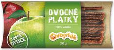 Ovocňák plátky 100 % Jablko 20 x 20 g