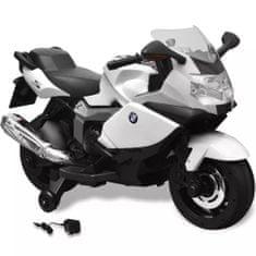 shumee Elektrická motorka pre deti, biela BMW 283 6 V