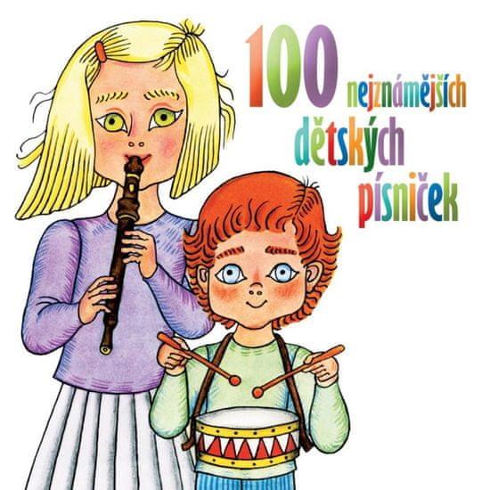 100 nejznámějších dětských písniček (2x CD) - CD